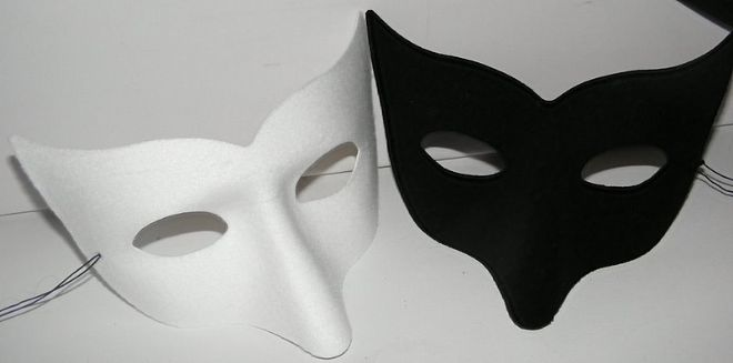 Nose Masks  (also available in silver & gold)